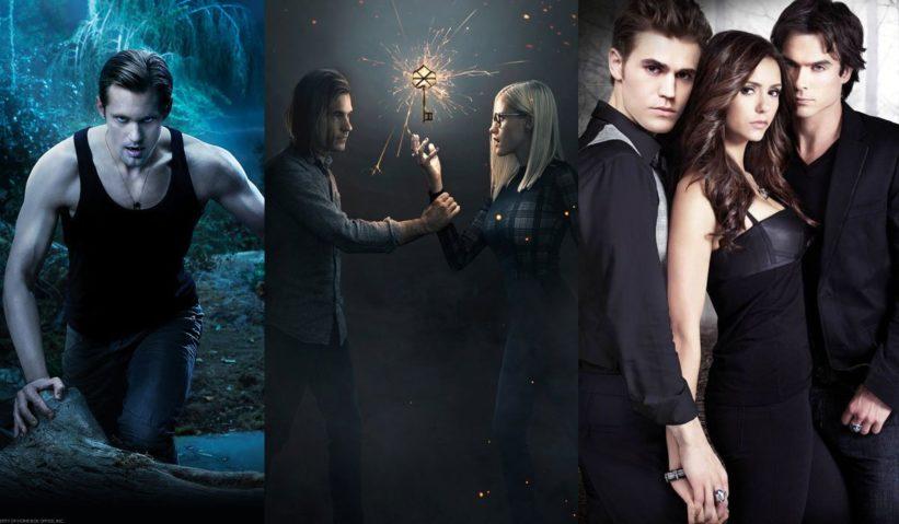 Nadpřirozené fantasy seriály