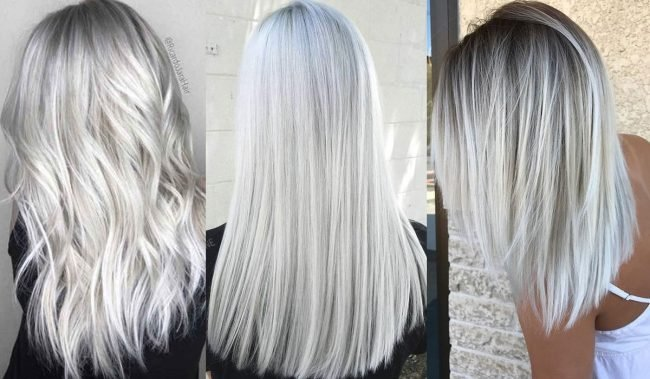 Blond trendy vlasů jaro léto 2019
