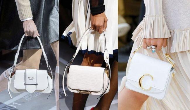 4905a78f6e Bílá kabelka nemusí byt vůbec kabelkou na jaro léto pokud vyberete kabelku  pevného tvaru která bude mít strukturu můžete ji nosit i na podzim v zimě.