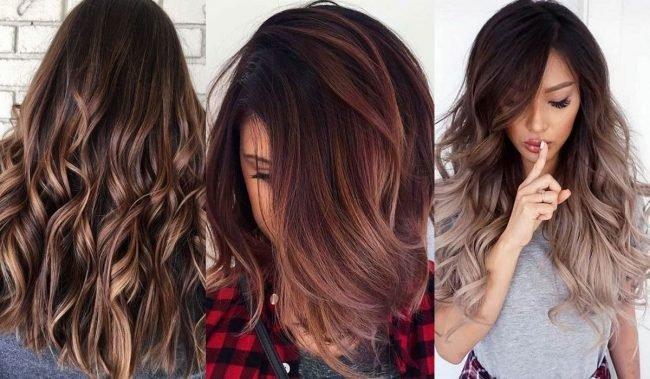 Ombré trendy vlasů jaro léto 2019