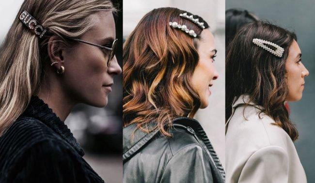 Doplňky trendy vlasů jaro léto 2019