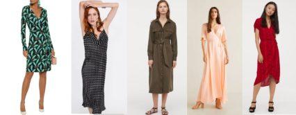 Top 7 ideálních trendových šatů na jaro / léto 2019