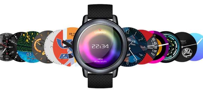 Lemfo lem8 chytré hodinky