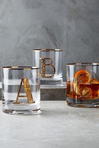 Darek pro muže - hrnečky nebo skleničky s iniciály