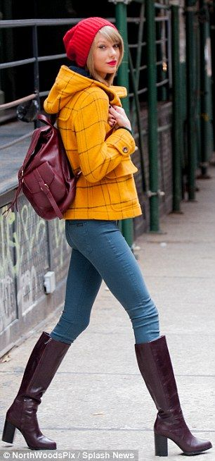 taylor swift color block style