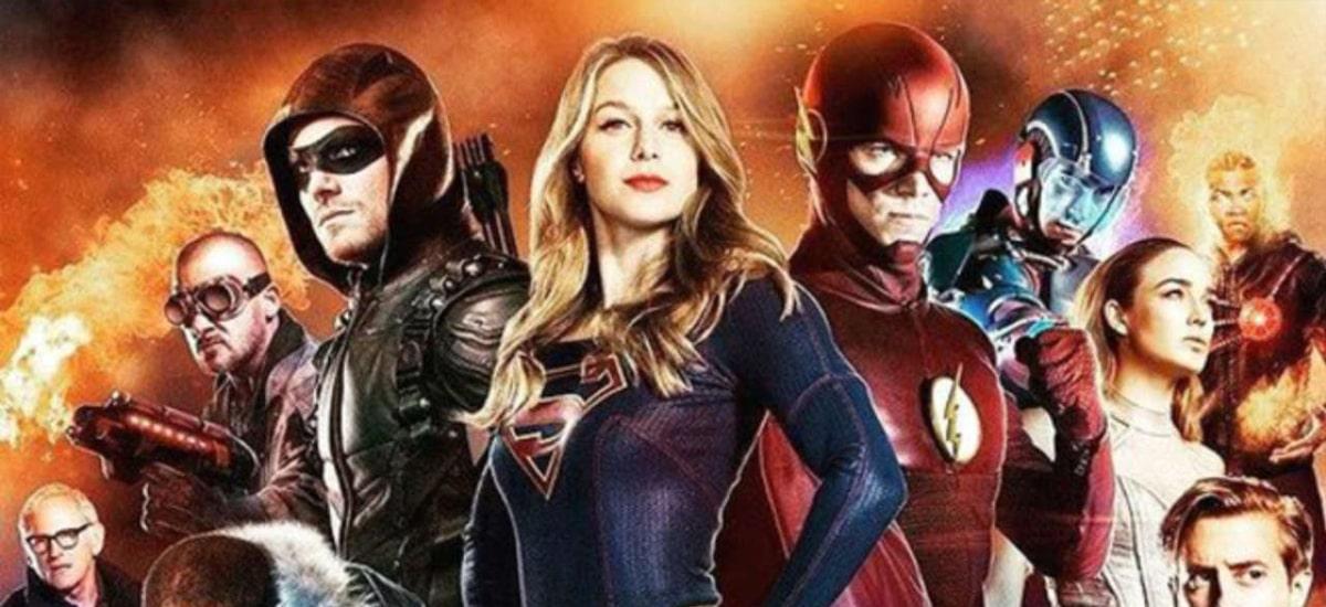 Crossover CW -Flash, Arrow, Supergirl, od roku 2014