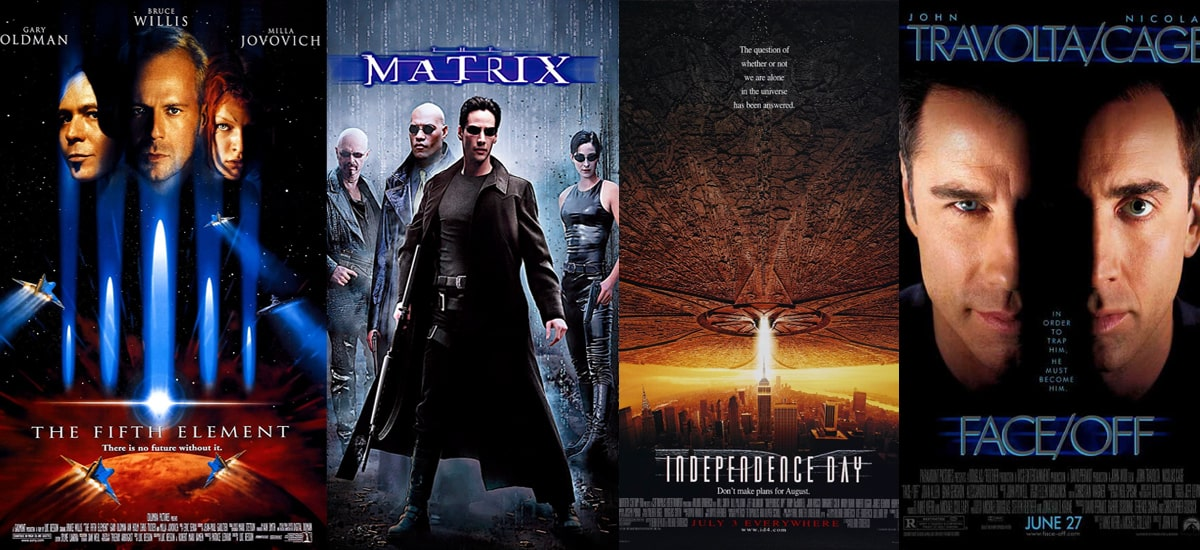 Sci-fi filmy 90 let